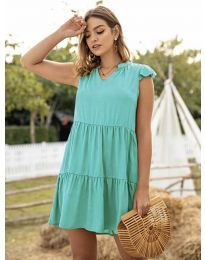 Šaty - kód 696 - tyrkysový