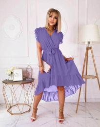Šaty - kód 8934 - 4 - fialová