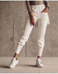 Kalhoty - kód 5664 - bílá