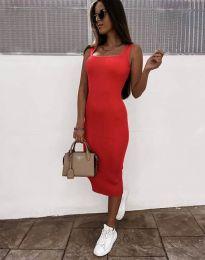 Šaty - kód 5964 - červená
