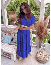 Šaty - kód 641 - modrá