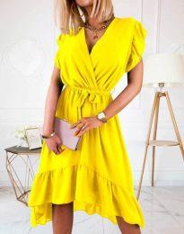 Šaty - kód 8934 - 2 - žlutá
