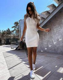 Šaty - kód 9458 - bíla