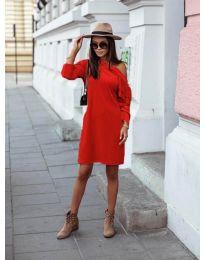 Šaty - kód 8171 - červená