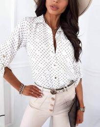 Košile - kód 3223 - bílá