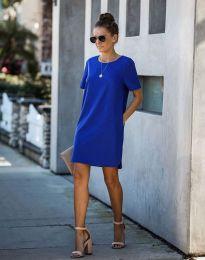 Šaty - kód 4408 - modrá