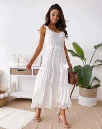 Šaty - kód 4672 - bíla