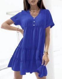 Šaty - kód 7205 - modrá