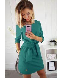 Šaty - kód 594 - mentolová