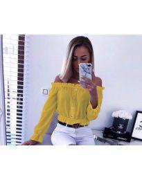 Košile - kód 7126 - žlutá