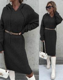 Šaty - kód 6449 - černá