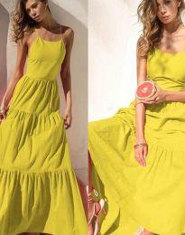 Šaty - kód 2991 - žlutá