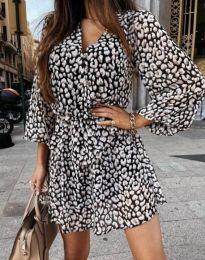 Šaty - kód 4589 - 1 - vícebarevné