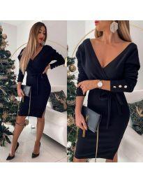 Šaty - kód 1584 - 3 - černá