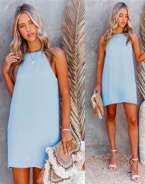 Šaty - kód 2169 - světle modrá