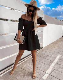 Šaty - kód 7413 - černá