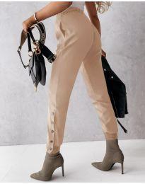 Kalhoty - kód 3987 - bežová