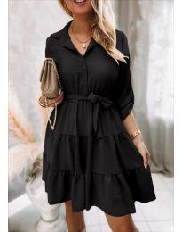Šaty - kód 6970 - černá
