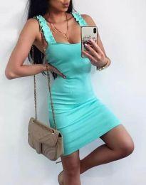 Šaty - kód 0229 - tyrkysový