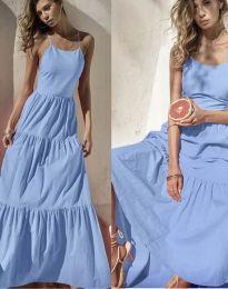 Šaty - kód 2991 - světle modrá
