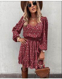 Šaty - kód 0366 - bordeaux