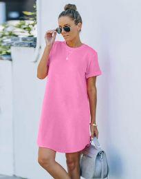 Šaty - kód 38444 - růžová