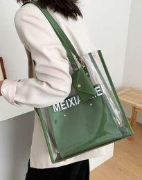 kabelka - kód B304 - olivová  zelená