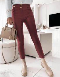 Kalhoty - kód 1567 - 1 - bordeaux