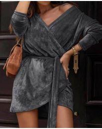 Šaty - kód 238 - tmavě šedá