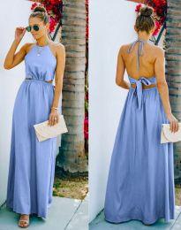 Šaty - kód 6121 - světle modrá