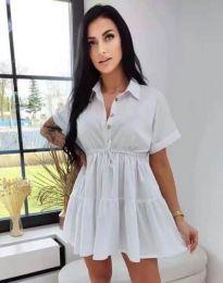 Šaty - kód 8889 - bíla