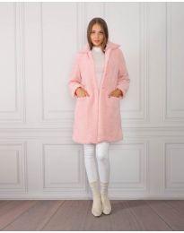 Kabát - kód 1615 - 2 - růžová