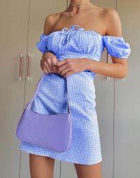 Šaty - kód 2594 - 3 - světle modrá