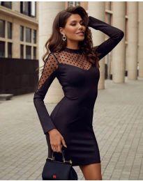 Šaty - kód 2484 - černá