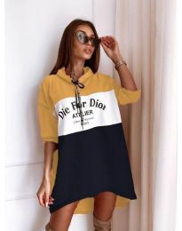 Šaty - kód 9090-7 - barevné