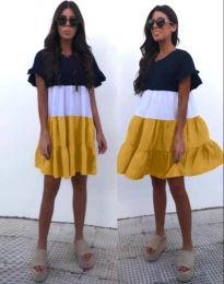 Šaty - kód 1039 - 3 - vícebarevné