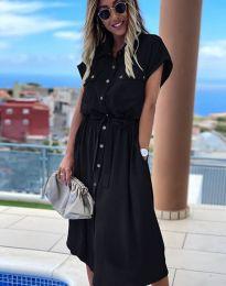 Šaty - kód 6344 - černá