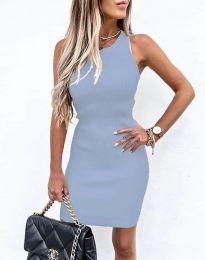 Šaty - kód 6331 - světle modrá