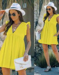 Šaty - kód 7141 - žlutá