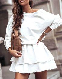 Šaty - kód 0525 - bíla