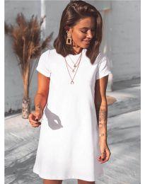 Šaty - kód 2299 - bílá
