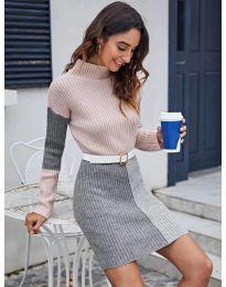 Šaty - kód 9935 - 1 - vícebarevné