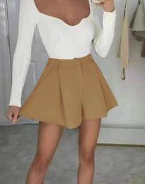 Krátké kalhoty - kód 1455 - cappuccino