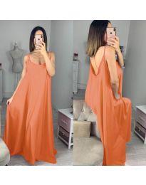 Šaty - kód 6600 - oranžová