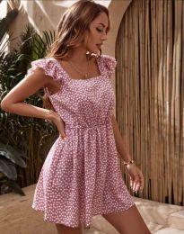 Šaty - kód 6525 - pudrová