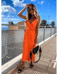 Šaty - kód 547 - oranžová