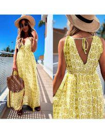 Šaty - kód 675 - žlutá