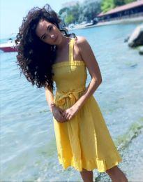 Šaty - kód 8113 - 4 - žlutá