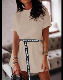 Šaty - kód 809 - bežová