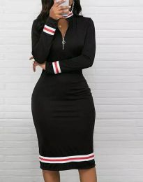 Šaty - kód 3565 - 1 - černá